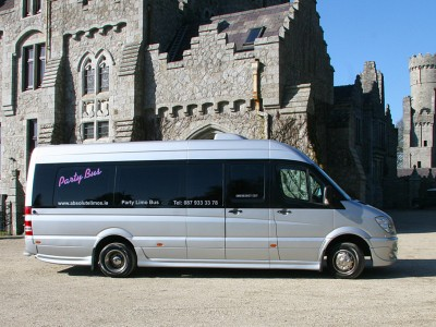 The 16 Seater Party Limo Bus
