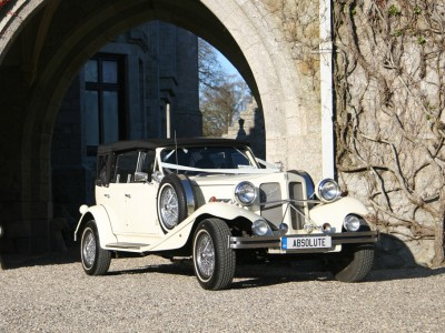 The White 1930s Beauford Convertible