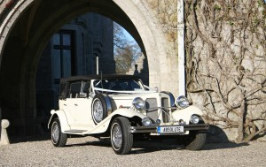 The White 1930s Beauford Convertible 2