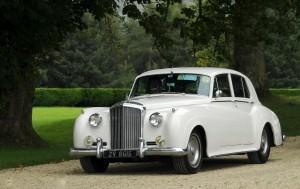 The White Baby Bentley 8